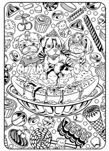 100 Coloring Pages - Absorbing Food Coloring Pages as though Funny Coloring Pages for Adults Fun Things to Color Unique Hair 17e