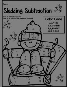 1st Grade Coloring Pages - Math Coloring Pages for 1st Grade 1st Grade Math Winter Worksheets 8i