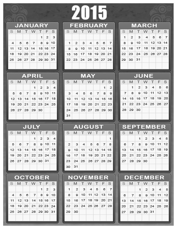 2015 Calendar For Your Personal Room 2 002