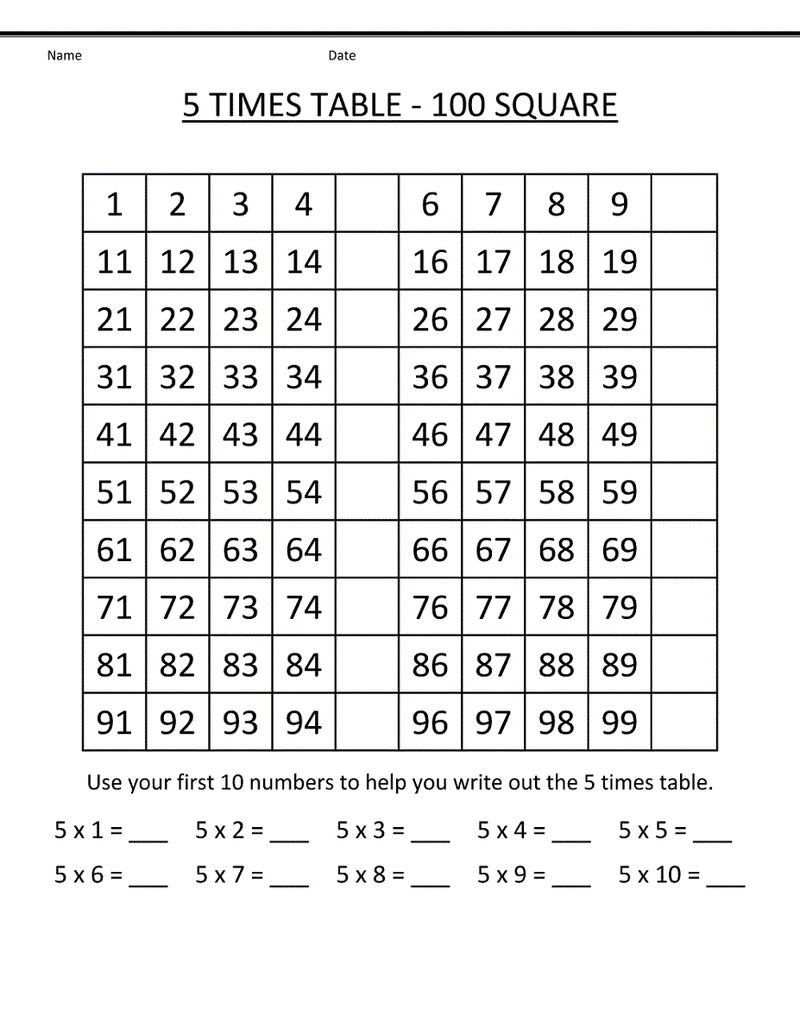 23 Times Table Tables Worksheet