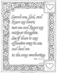 23rd Psalm Coloring Pages - Psalm 139 Coloring Page 11 Psalm 119 105 Coloring Page 18j