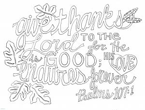 23rd Psalm Coloring Pages - Christmas Coloring Pages with Bible Verses Psalm 107 1 at 0 Tgm Sports Inspirational Christmas Coloring 19m