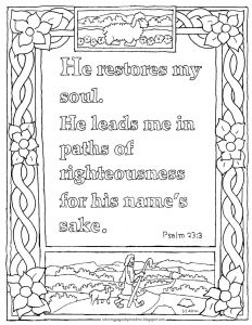 23rd Psalm Coloring Pages - Impressive Psalm 23 Coloring Page 21 Free Coloring Pages 10r