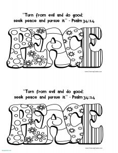23rd Psalm Coloring Pages - Fruit the Spirit Goodness Coloring Page Free Fruit the Spirit Coloring Pages Lovely Awesome Od 19m