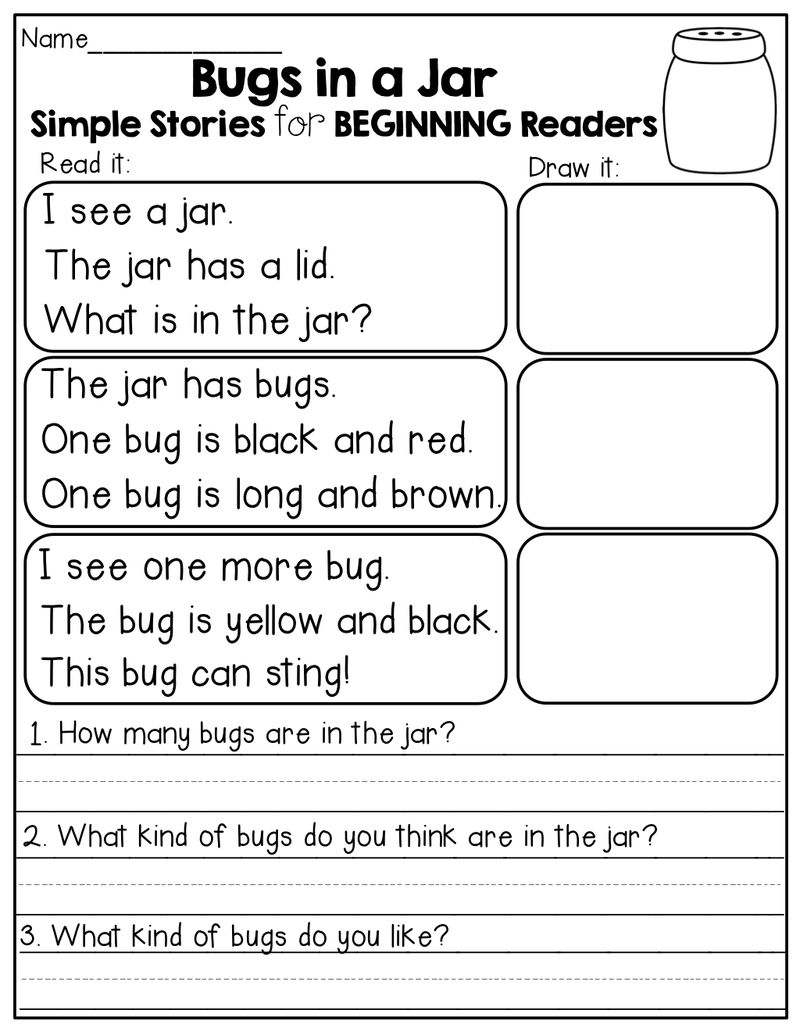 2nd Grade Reading Stories Worksheets