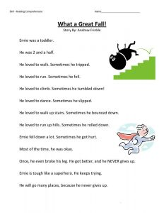 2nd grade reading story worksheets