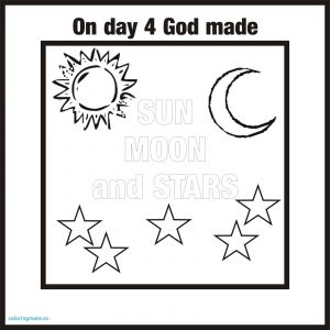 7 Days Of Creation Coloring Pages Free - Days Creation Coloring Pages Free Creation Coloring Pages Fresh New Creation Coloring Page 2l