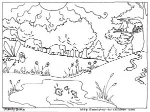 7 Days Of Creation Coloring Pages Free - Creation Animals Coloring Pages Beautiful Creation Coloring Page Fresh Creation Animals Coloring Pages 5j