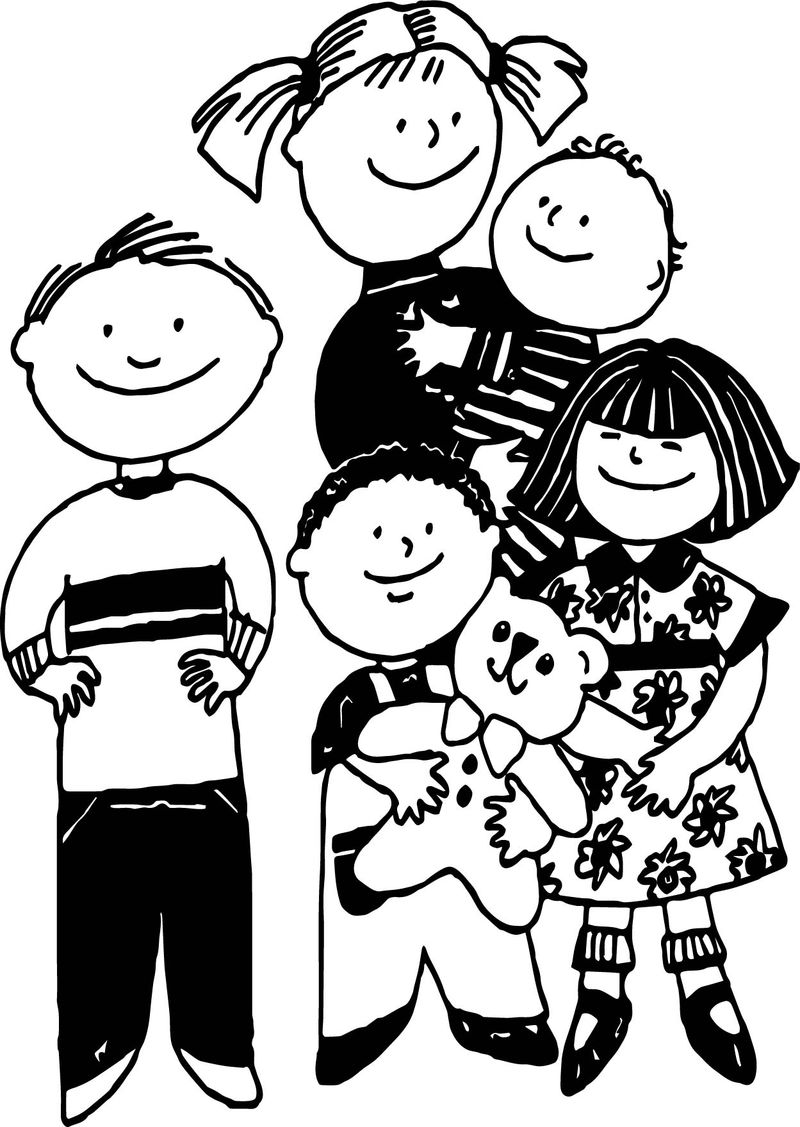 Abraham And Sarah Family Coloring Page