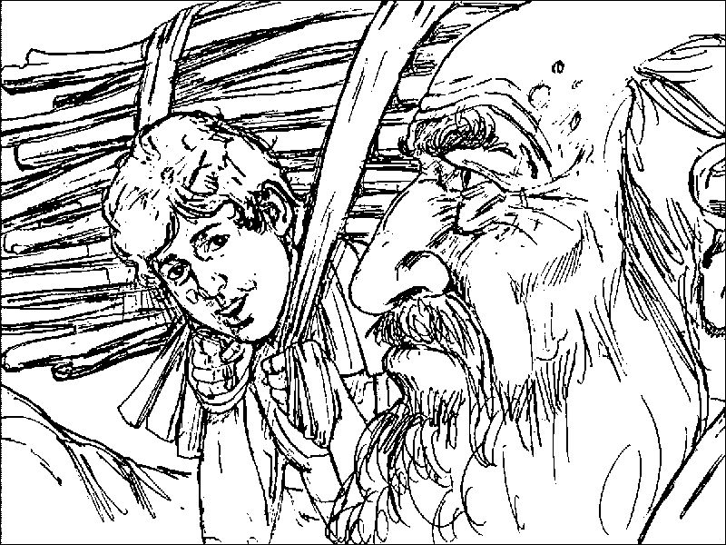 Abraham And Sarah Story Coloring Page