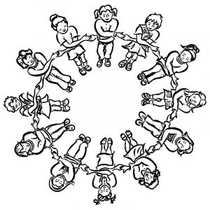 Activities kids game activity coloring page