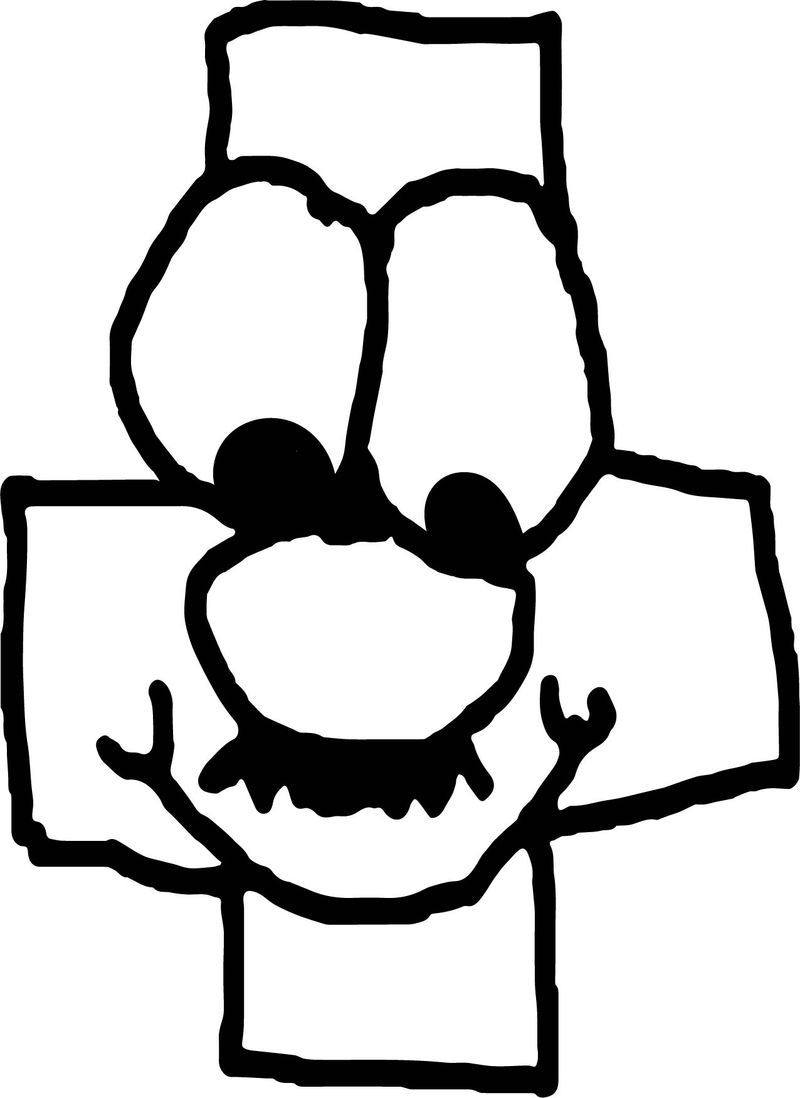 Addition Face Coloring Page