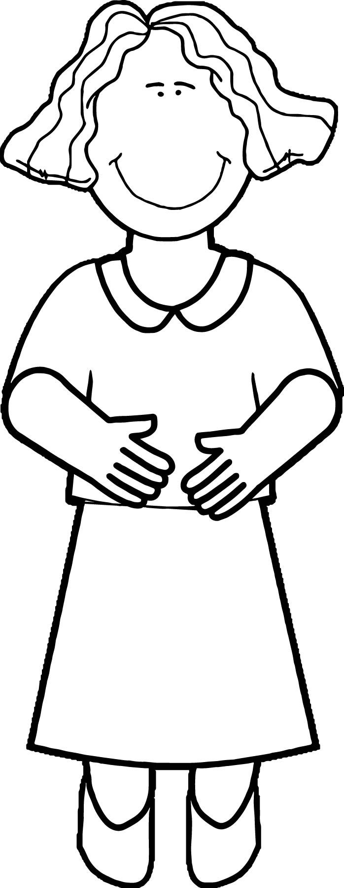 Adult Mommy Coloring Page