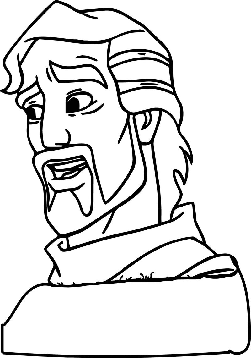Aladdin And The King Of Thieves Statue Coloring Pages