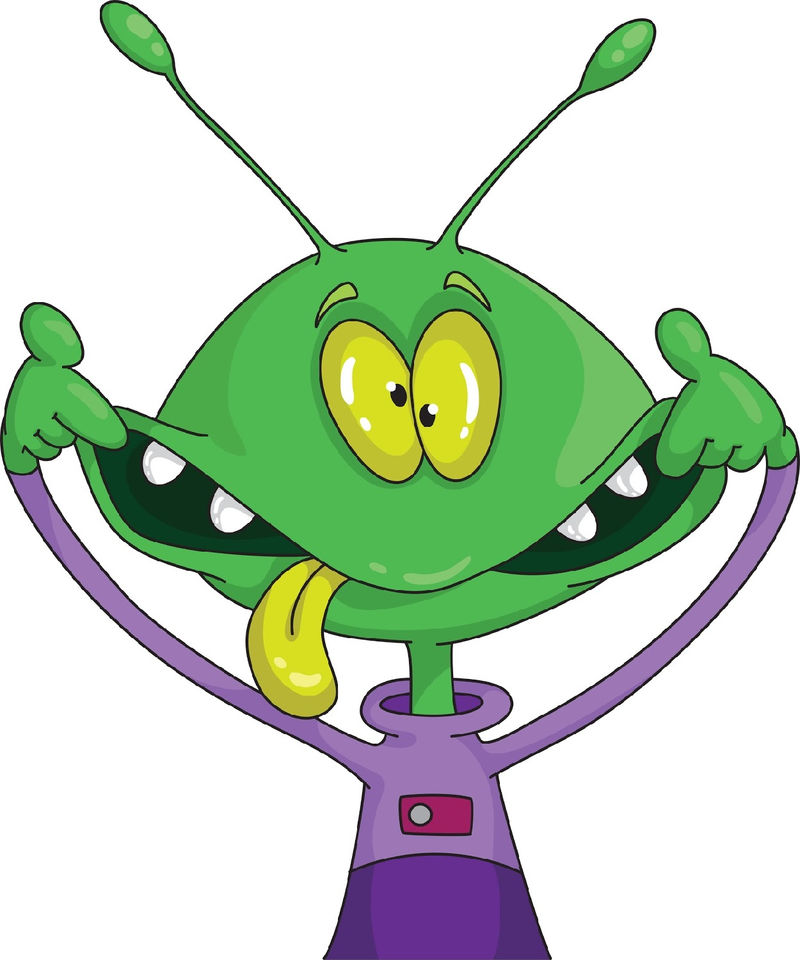 Alien Pictures For Kids Crazy 001
