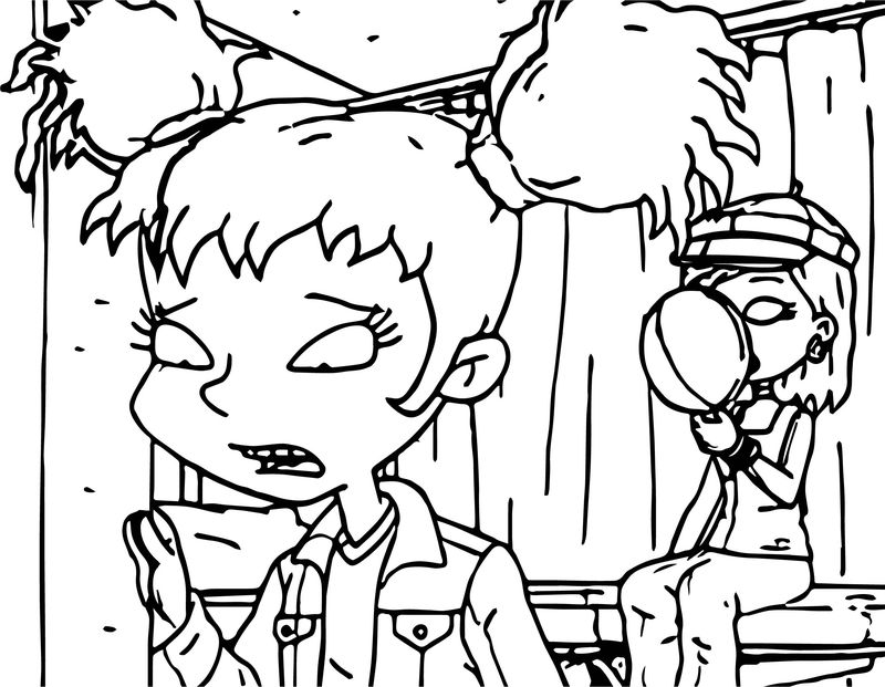 All Grown Up Candy Coloring Page