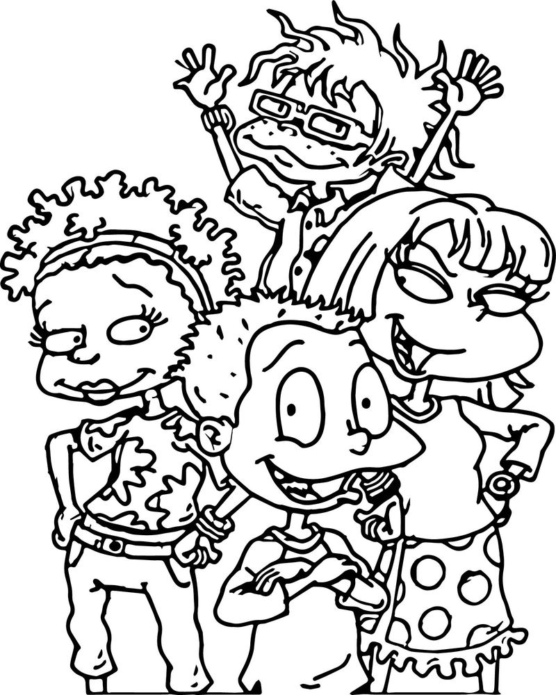 All Grown Up President Kids Coloring Page