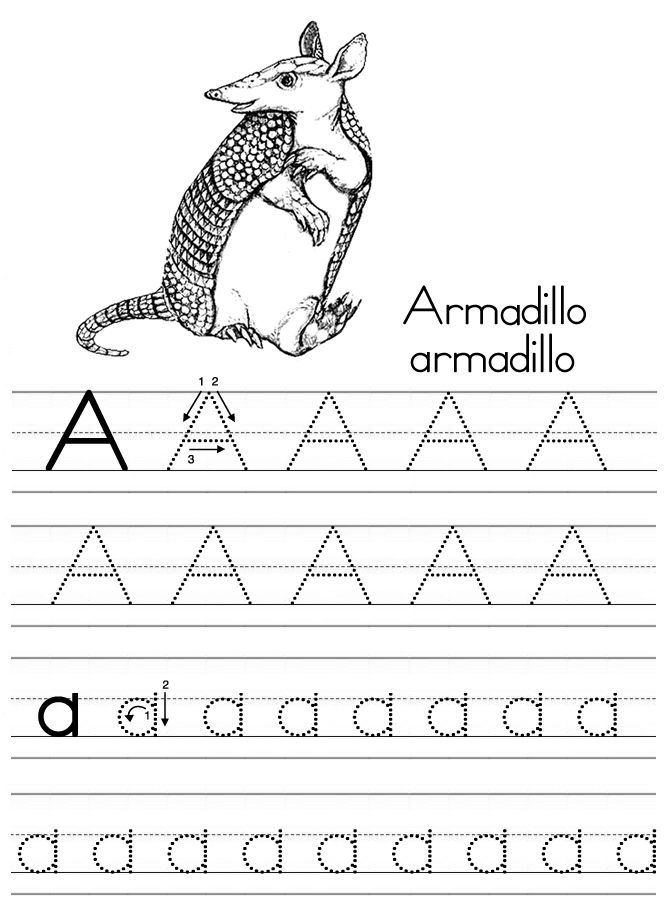 Alphabet Tracing Pages 2 001