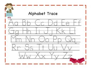 Alphabet worksheets for kids