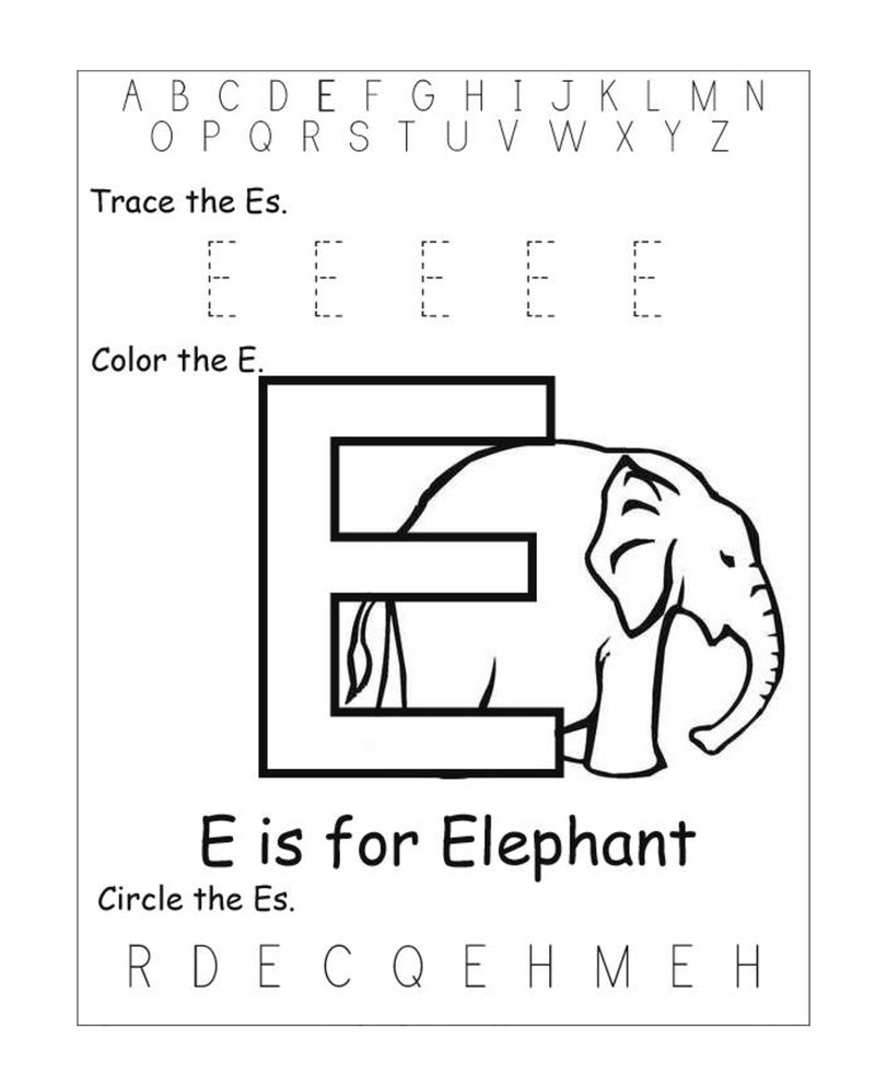 Alphabet Worksheets For Kids Printable 001