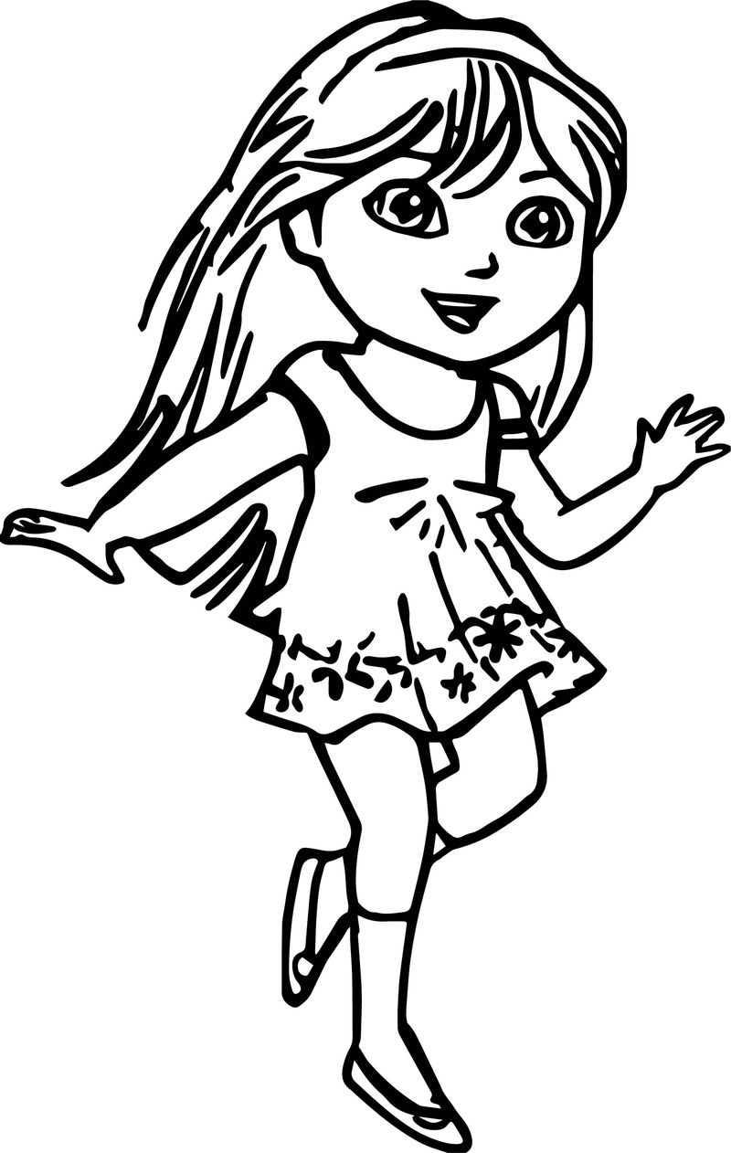 Amd Dora New Image Coloring Page