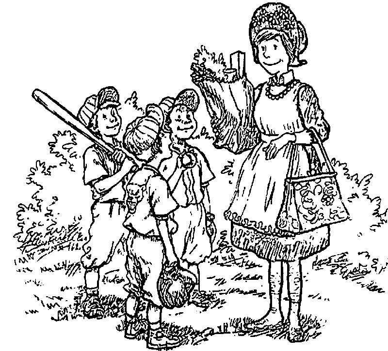 Amelia Bedelia Play Baseball Playing Children Coloring Page