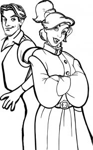 Anastasia cartoon characters dmitry vladimir rasputin coloring page