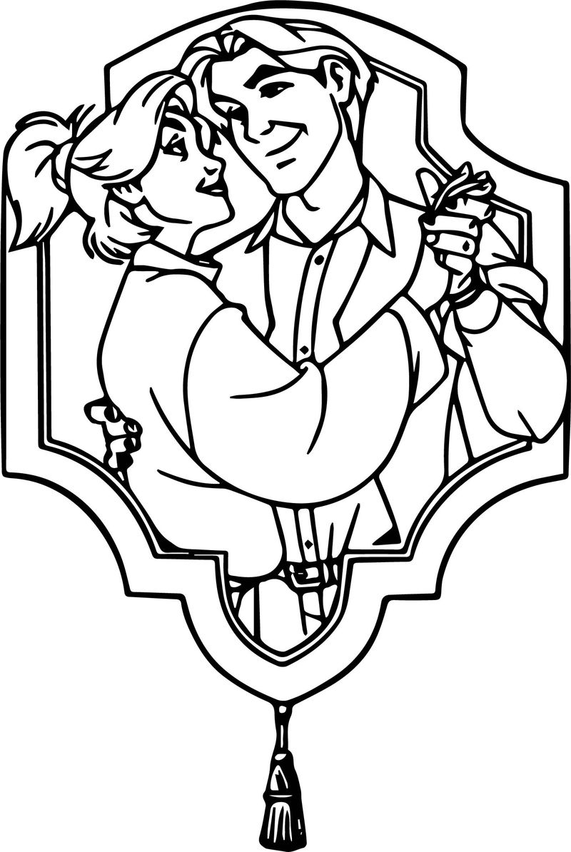Anastasia Cartoon Free Wallpapers Coloring Page