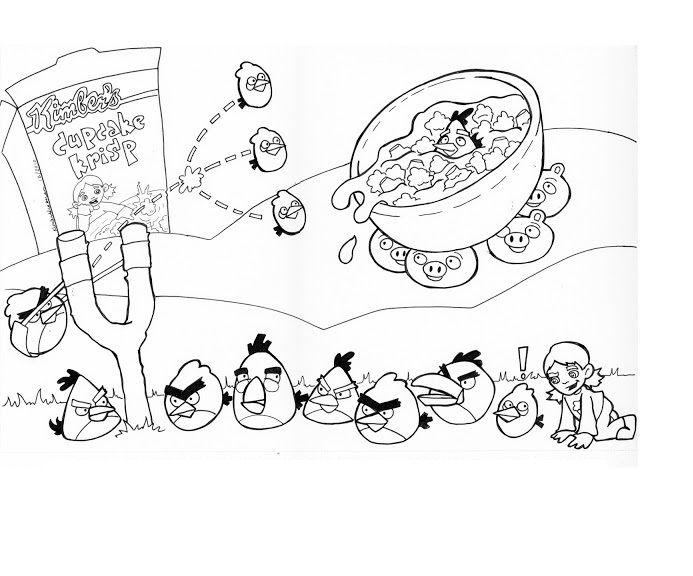 Angry Birds Coloring Pages All Birds