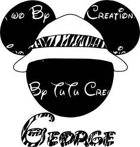 Animal kingdom george mickey mouse coloring page