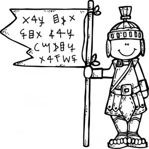 Antic man captain coloring page