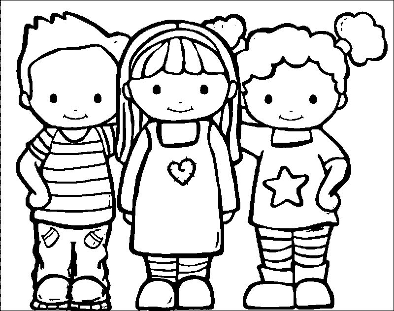 Any Kids Coloring Page
