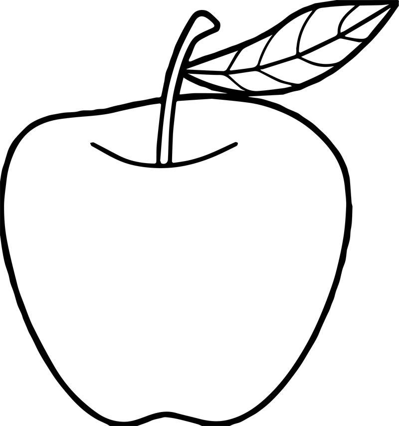 Apples Printable Templates Coloring Pages