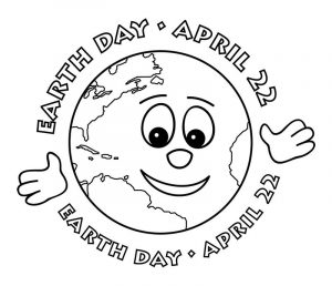 April 22 earth day coloring pages