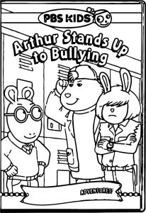 Arthur pbs kids coloring pages