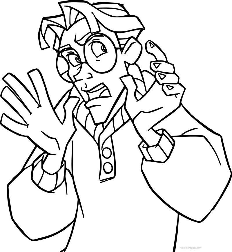 Atlantis The Lost Empire James Thatch Nooo Coloring Page