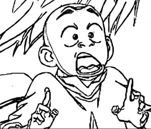 Avatar aang coloring page 214145001