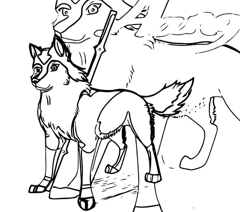 Avatar Aang Wolf Darknoctem Avatar Aang Coloring Page