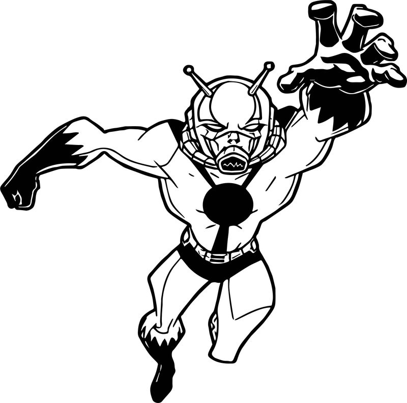 Avengers Catch Coloring Page