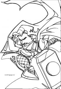 Avengers coloring page 01