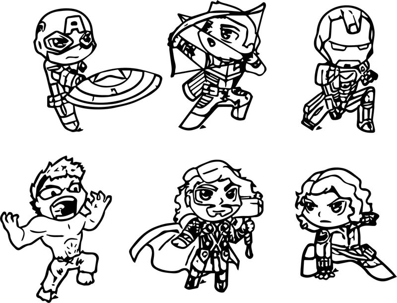 Avengers Coloring Page 10 - Coloring Sheets