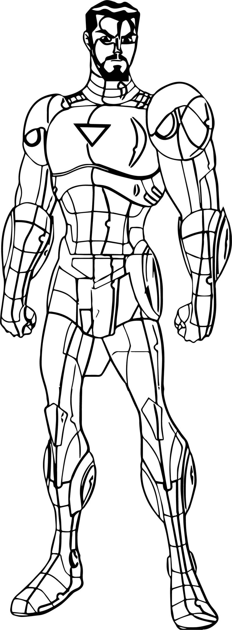 Avengers Coloring Page 11