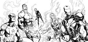 Avengers pictures to print
