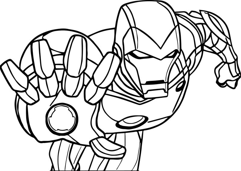 Avengers Stop Coloring Page