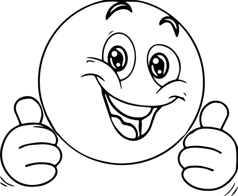 Awesome Face Coloring Page