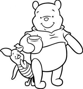 Baby piglet winnie the pooh coloring page 52