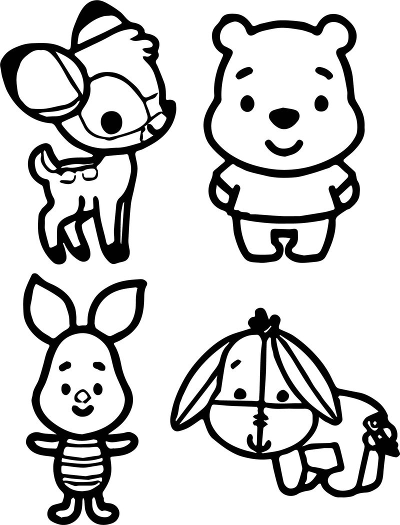 baby winnie the pooh disney coloring page  coloring sheets
