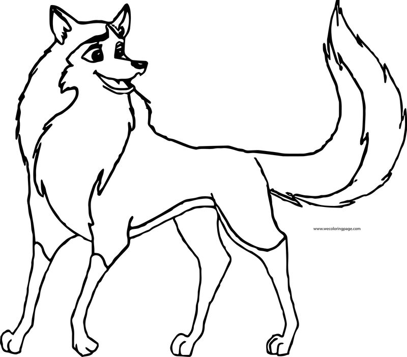 Balto Wolf Coloring Page 119