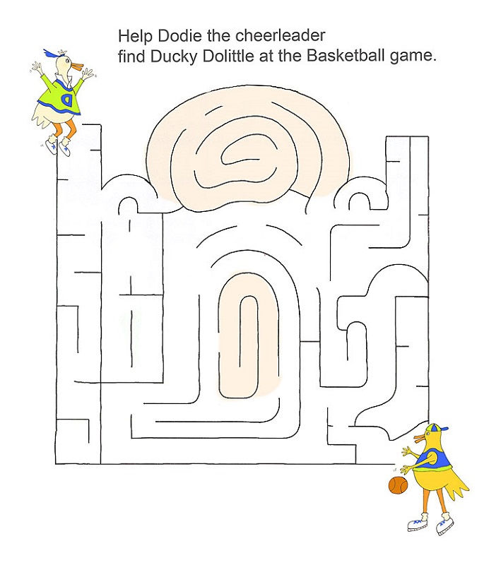 Basketball Activities For Kids Free