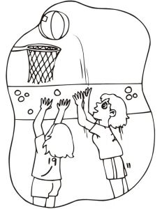 Basketball activities for kids girl